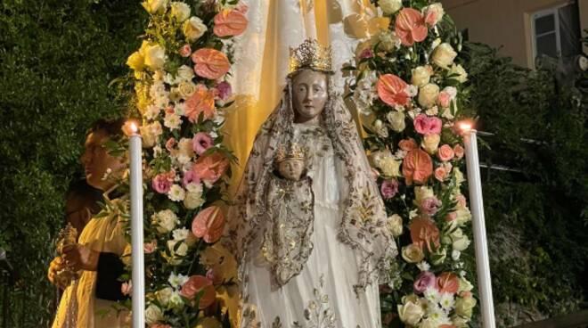 Riviera24- Cerimonia Incoronazione Madonna