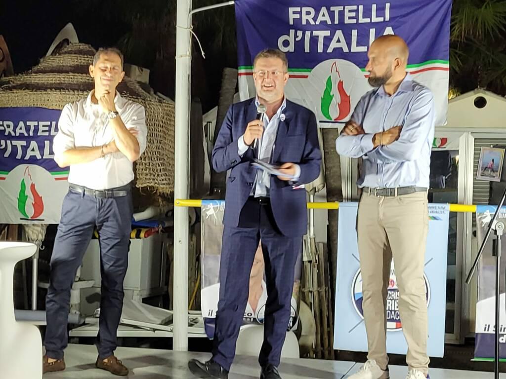 riviera24 - Diano Marina, l'onorevole Fidanza (FdI) incontra la cittadinanza
