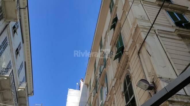 Riviera24- incendio sanremo