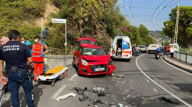 riviera24 - incidente soccorsi bordighera