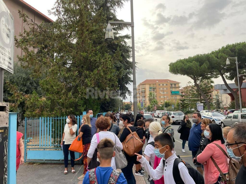 Riviera24- primo giorno scuola ventimiglia