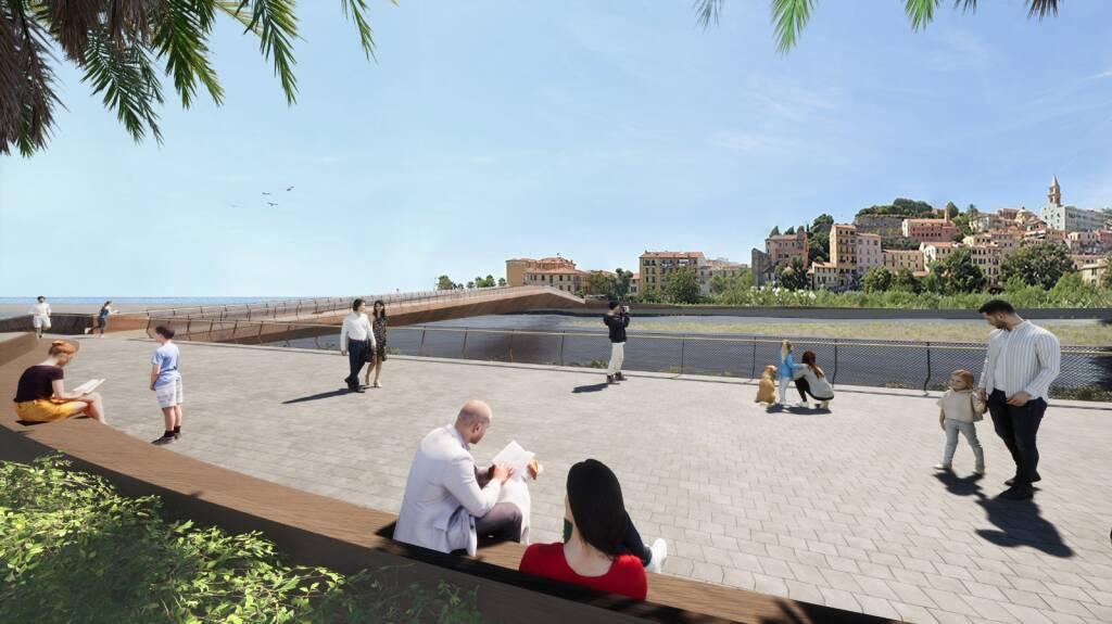 Riviera24- progetto passerella roia