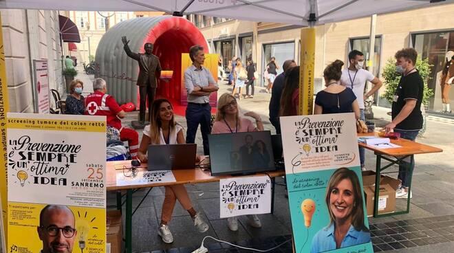 riviera24 - Sanremo, in tanti allo screening sul tumore al colon