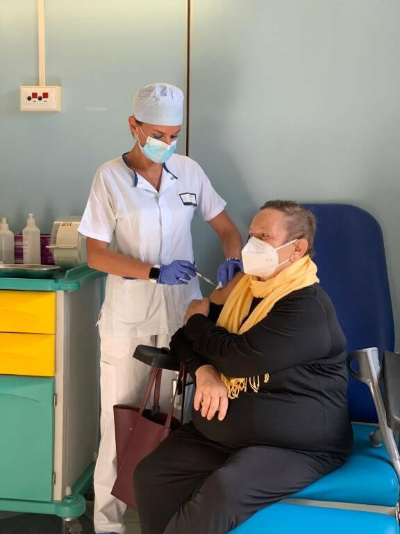 Silvia Fiore vaccino terza dose