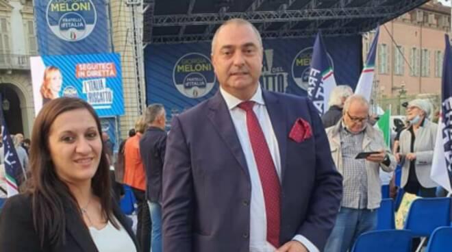 Veronica Russo e Fabio Perri