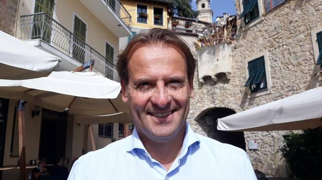 Visita dell'assessore regionale Marco Scajola a Vallebona