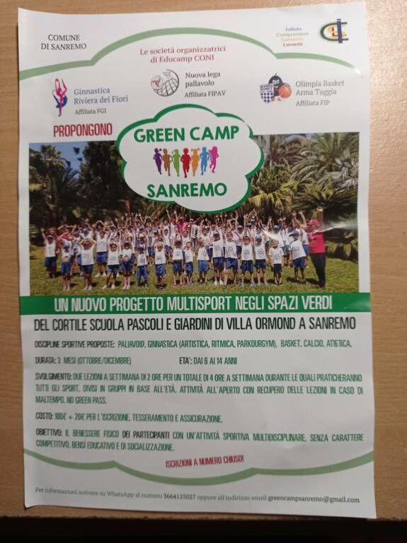 Green Camp Sanremo