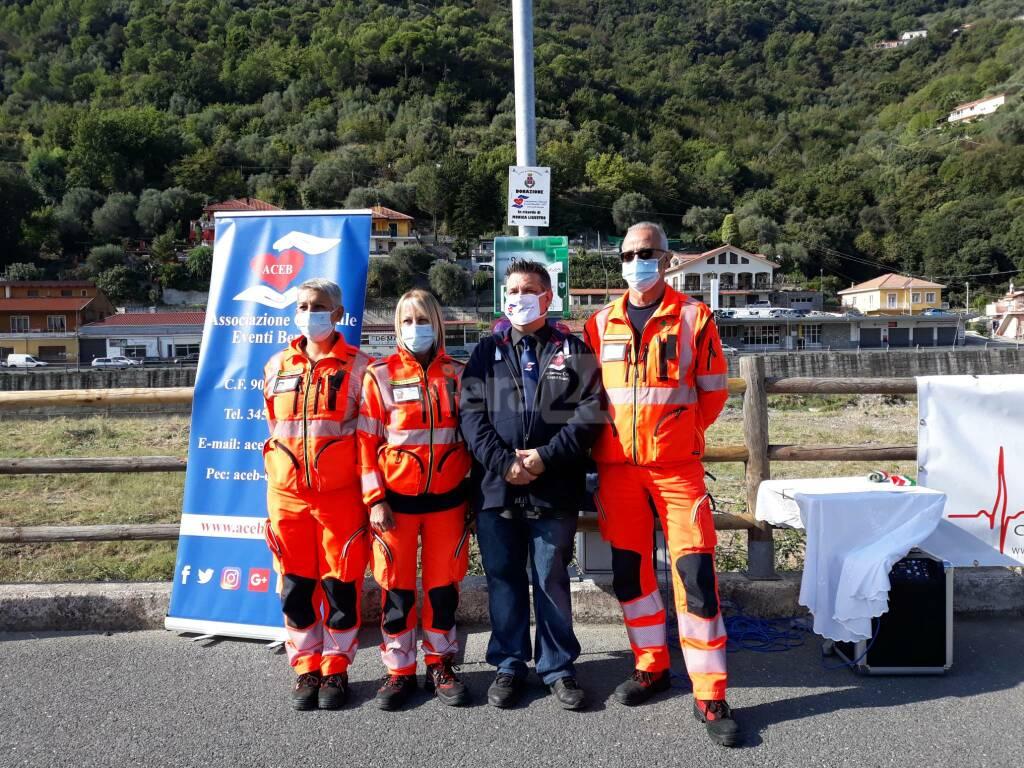 Nuovo defibrillatore a Camporosso