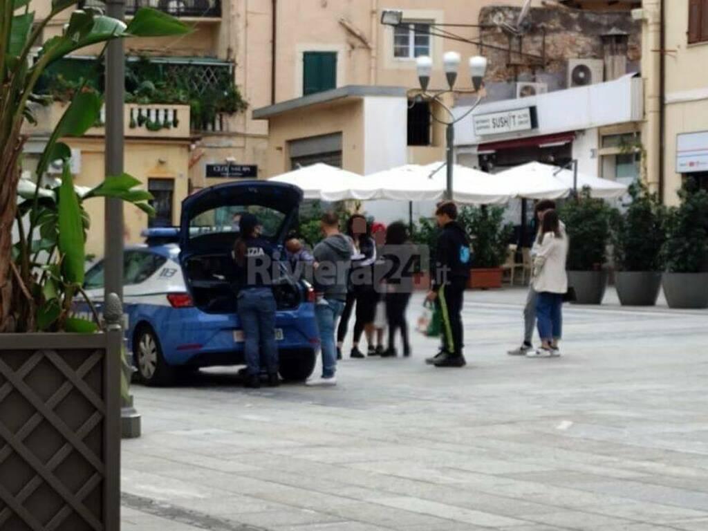 riviera24 - polizia sanremo centro