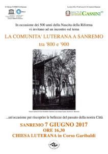 Riviera24 - Liceo Cassini e Club Unesco Sanremo Progetto Lutero