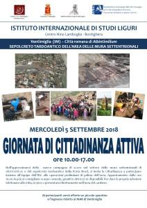 Locandina Ventimiglia Giornata cittadinanza attiva