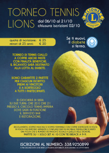 Torneo tennis di zona