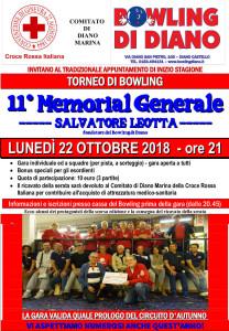 locandina MEMORIAL GENERALE 2018