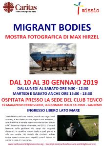 MOSTRA FOTOGRAFICA Migrant Bodies SANREMO