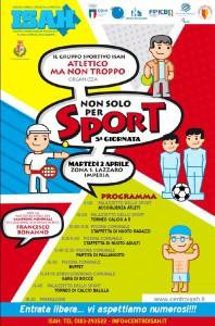 locandina non solo sport