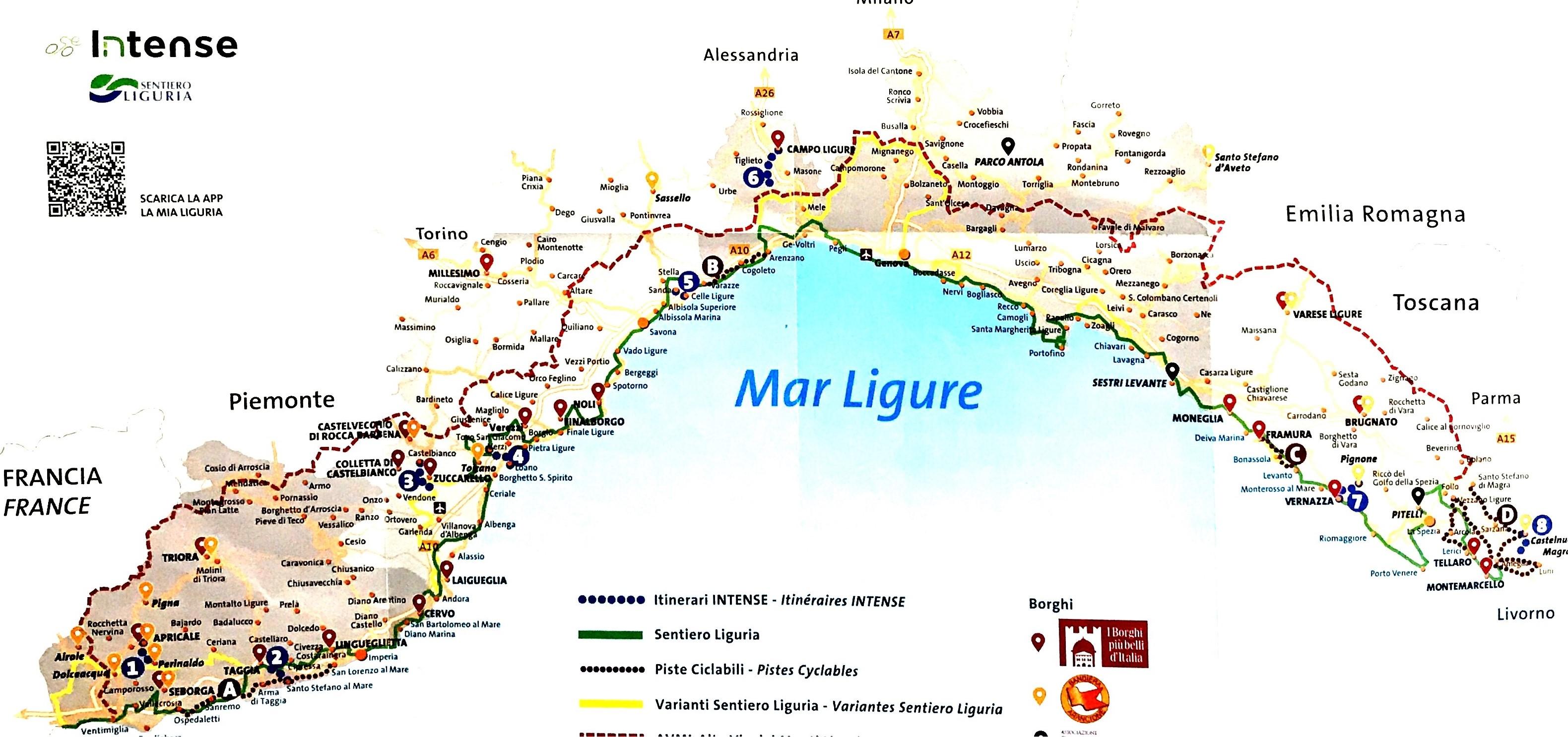 Santo Stefano Sardegna Cartina.Santo Stefano Al Mare In Comune Focus Su Itinerari Turistici Sostenibili Riviera24