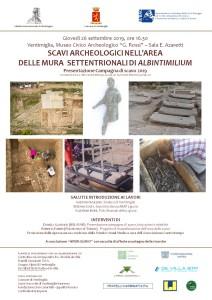 Locandina Ventimiglia 26 settembre 2019