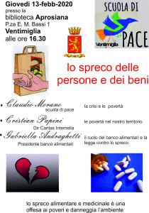 Scuola di Pace 13-2-2020