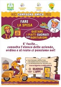 Coronavirus, Coldiretti Ligurie: «En soutien aux familles en difficulté maxi livraison de produits agricoles» photo